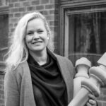 Magdalena Svedlund, ägare och VD för Puuts Interior AB i Tibro (f.d. Klingstroms Svarveri och Anders Andersson & Son)